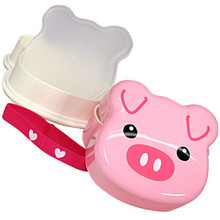 Piggy Face Bento Box  From Kotobuki