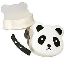 Happy Panda Face Bento Box  From Kotobuki