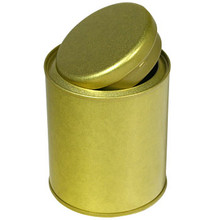 Gold Tea Canister  From Kotobuki
