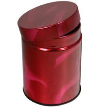 Red Pattern Tea Canister  From Kotobuki