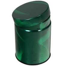 Green Pattern Tea Canister  From Kotobuki