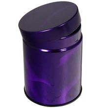 Purple Pattern Tea Canister  From Kotobuki