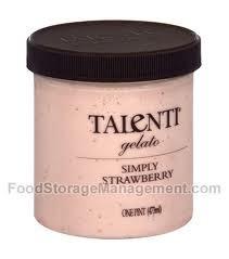 Simply Strawberry, 8 of 16 OZ, Talenti Gelato E Sorbetto