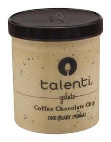 Coffee Chocolate Chip, 4 of 32 OZ, Talenti Gelato E Sorbetto