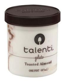 Toasted Almond, 8 of 16 OZ, Talenti Gelato E Sorbetto