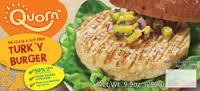 Turk'y Burger, 12 of 9.9 OZ, Quorn