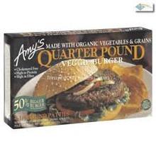 Veggie Qtr Pound, 4 Patties, 12 of 16 OZ, Amy'S