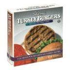 Turkey Burgers, 6 of 12 OZ, Shelton'S