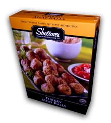 Turkey Meatballs, 6 of 10 OZ  , Shelton'S