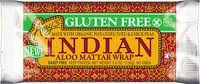 Indian Allo Mattar Wrap, GF, 12 of 5.5 OZ, Amy'S