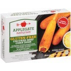 Beef Corn Dogs, GF, 12 of 10 OZ, Applegate Farms