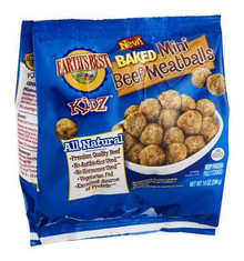 Baked Mini Meatballs, 12 of 14 OZ, Earth'S Best Baby Foods