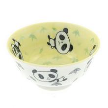 Yellow Panda Miso Bowl 5.25'  From Kotobuki