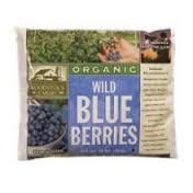 Blueberries, Wild, IQF, 4 of 5 LB, Woodstock