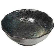 Sushi Rice Bowl Dark Stoneware 4'  From AFG