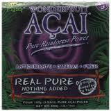 Real Pure 4 100g Pks, 8 of 14.11 OZ, Acai Wonderfruit
