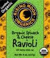 Spinach & Cheese, 6 of 8 OZ, Rising Moon Organics