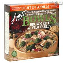 Brown Rice & Vegetable, LS, 12 of 10 OZ, Amy'S