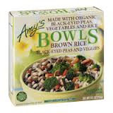 Brwn Rce/Blkeyed Peas/Veggies WF, 12 of 9 OZ, Amy'S