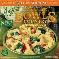 Country Cheddar, Light In Sodium, 12 of 9.5 OZ, Amy'S