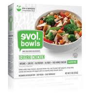 Teriyaki Chicken, 12 of 9 OZ, Evol Foods