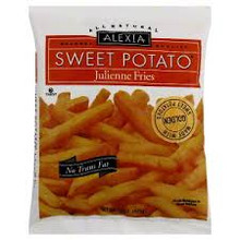 Julienne Swt Potato w/Sea Salt, 12 of 15 OZ, Alexia Foods