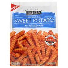Sweet potatoes, Salt & Pepper, 12 of 20 OZ, Alexia Foods