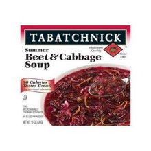 Soup, Beet & Cabbage, 12 of 15 OZ, Tabatchnick