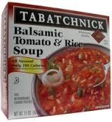 Soup, Balsamic, Tomato and Rice, 12 of 15 OZ, Tabatchnick