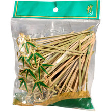 Bamboo Looped Skewers 10.5cm  From AFG