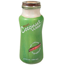 Natural Coconut Water 9.5 oz  From Taste Nirvana