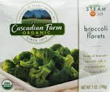 Broccoli Florets, 12 of 7 OZ, Cascadian Farm