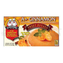 A+ Cinnamon Sweet Potato WG, 6Ct, 12 of 8.4 OZ, De Wafelbakkers