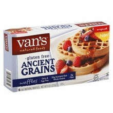 Ancient Grains, Waffles, 12 of 8 OZ, Van'S International Foods