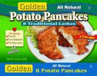 Potato, Traditional Latkes, 8 ct, 12 of 10.6 OZ, Golden