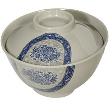 Peony Rice Bowl with Lid 3  From Paifu