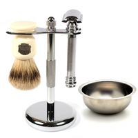 MY Essentials 4 Piece Shaving Set featuring the Merkur 38C