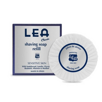 LEA Classic Shaving Soap Puck - Sensitive Skin