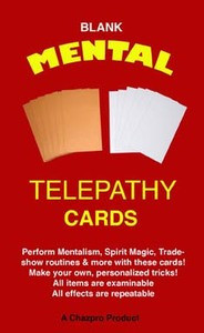 Blank Telepathy Card Set
