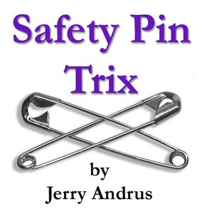 Safety Pin Trix Book by Jerry Andrus