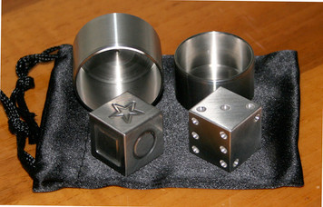 Die-Cipher II Stainless Steel Set