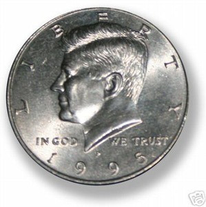 Steel Core Half Dollar