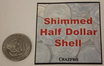 Shimmed Half Dollar - Tails