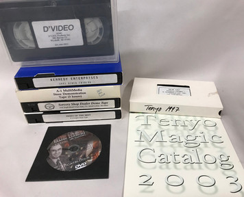Dealer Demo Videos, 1990s, Tenyo, Sorcery Shop, Kennedy