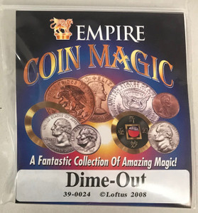 Dime Out Coin Trick