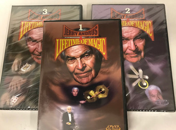 Jerry Andrus, Life Time of Magic DVD Vol. 1-3