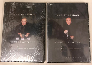 Jeff Sheridan Genius At Work DVDs Vol. 3 & 4