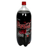 Coca Cola Cherry Zero Soda - 2 L