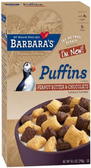 Barbara's Puffins - Peanut Butter & Chocolate -11oz