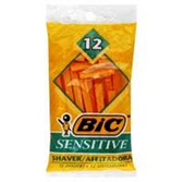 Bic Shavers Sensitive - 12 Count